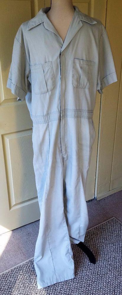 Walls VTG Men's Coveralls Jumpsuit One Pc~Sz 42 44~Light Gray~Work Mechanic | Clothing, Shoes & Accessories, Vintage, Men's Vintage Clothing | eBay!