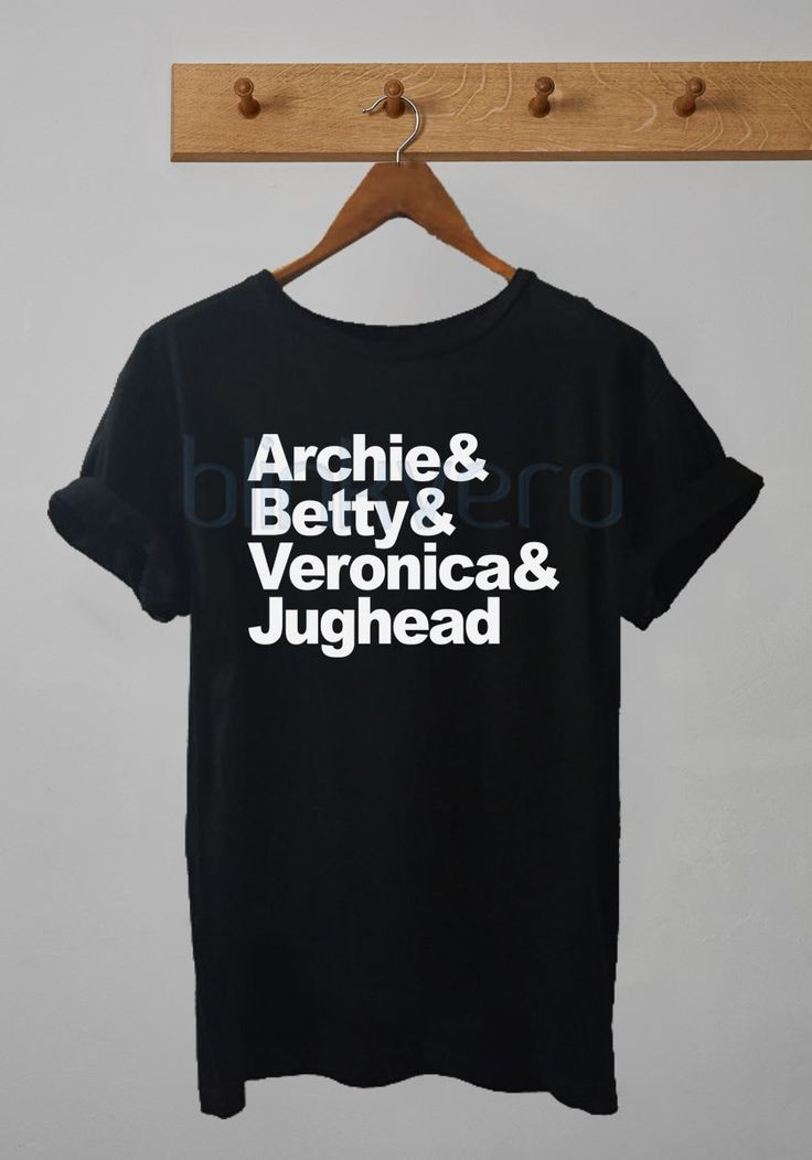 archie comics betty veronica and jughead awesome unisex tshirt tanktop adult