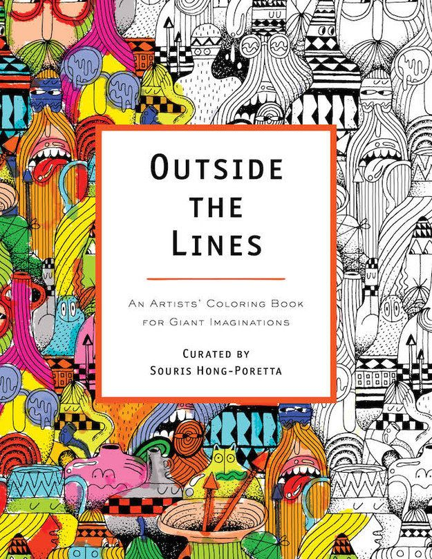 outside the lines - A Fun Magic Coloring Book
