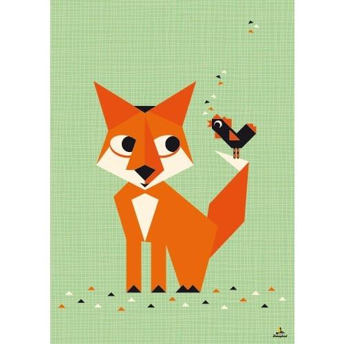 Miss Honeybird poster A2 vos