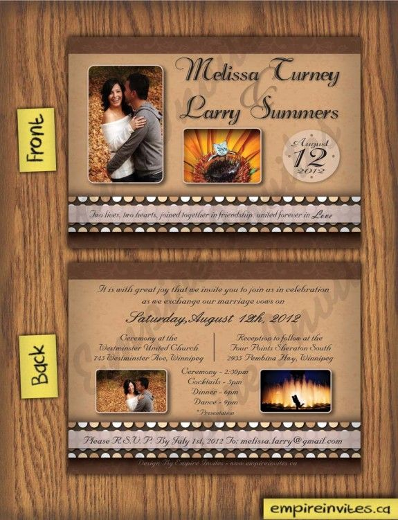 26 best wedding invitations images – Custom Wedding Invitations Canada