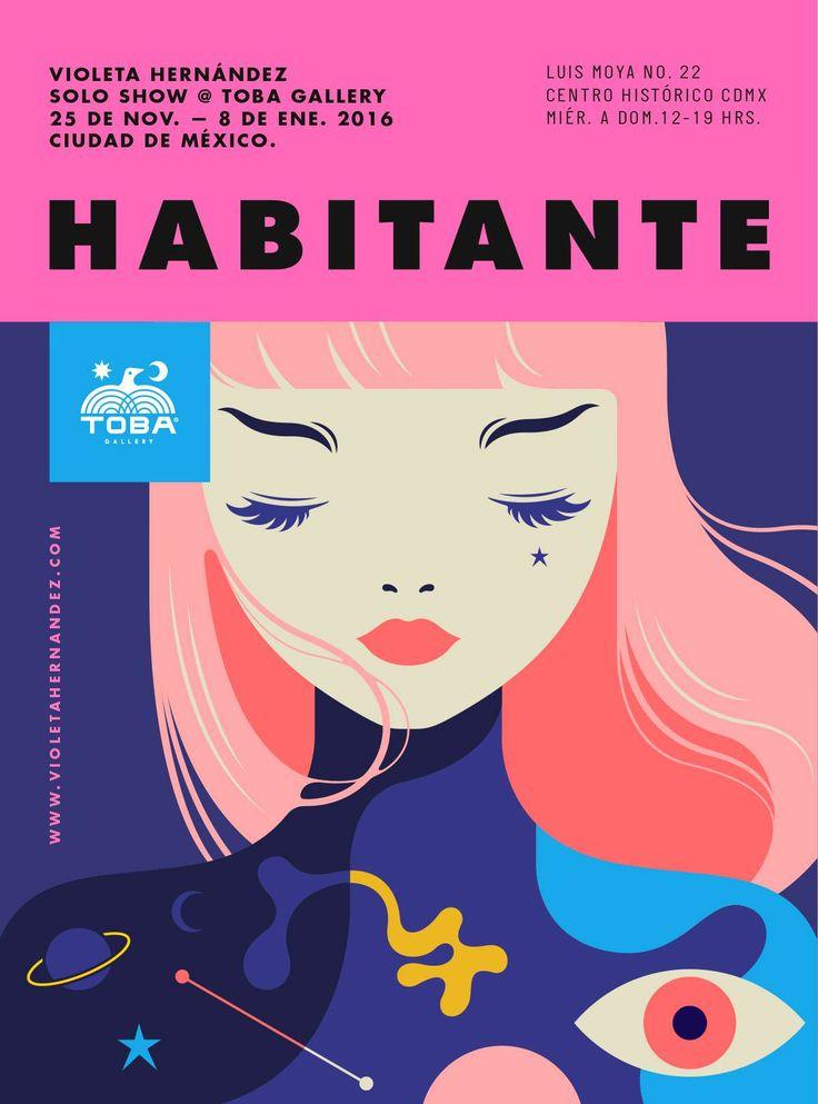 Este viernes 25 de noviembre en punto de las 7 de la noche,Violeta Hernández presentará su primera exposición en solitario en la recién inaugurada galería TOBA ubicada en el Centro Histórico de la Ciudad de