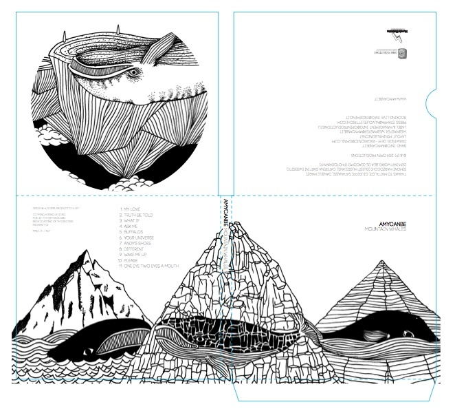 amycanbe cover art for mountain whales by dem