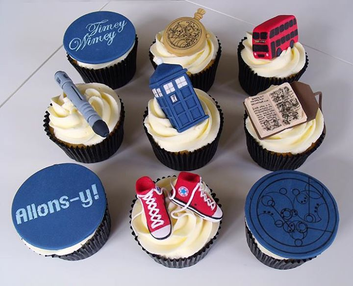 Doctor Who cupcakes                                                                                                                                                                                 Mehr