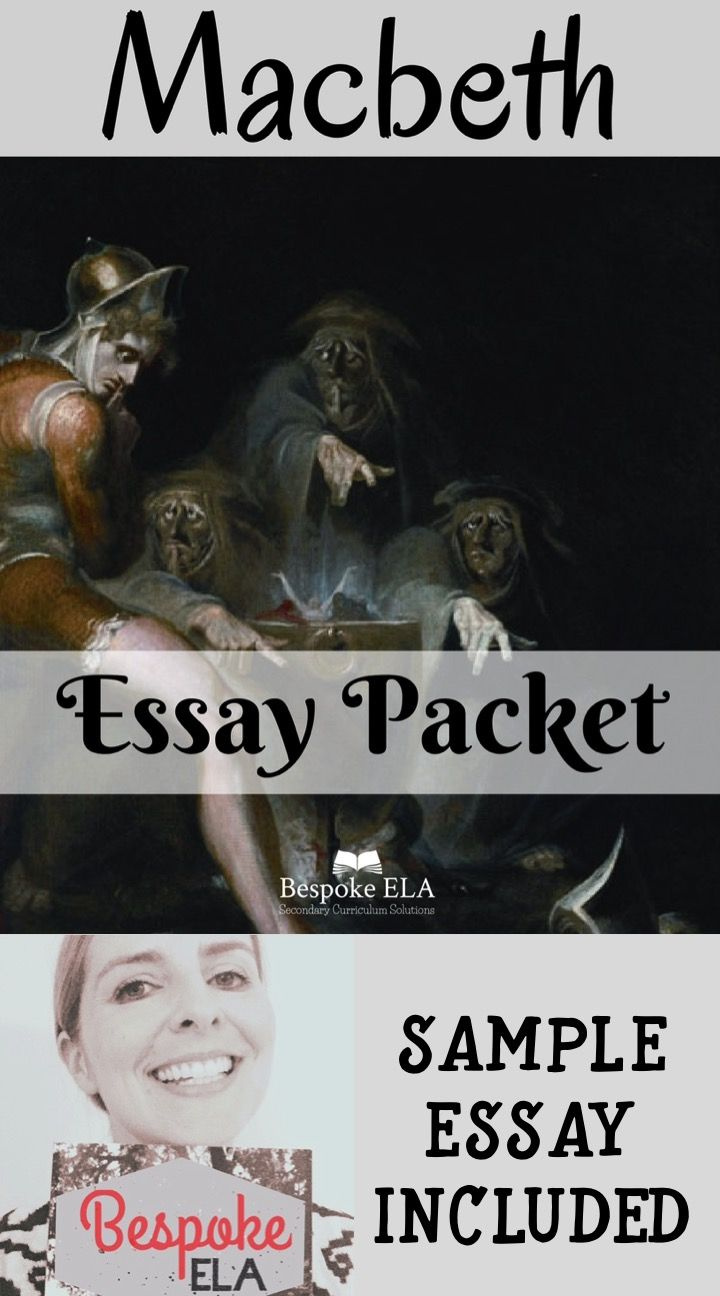 macbeth essay prompts Macbeth study guide contains a biography of william shakespeare, literature essays, a complete e-text, quiz questions, major themes, characters, and a full summary and analysis.