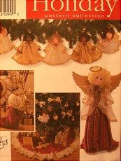 Simplicity pattern.  Never opened.  Tree skirt, angel, ornaments...  http://barbspencerdolls.com/patterns/ Sixteen pages full of patterns for sale!  All prices very reasonable.