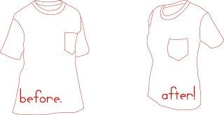 Fashionomics: How to alter a t-shirt