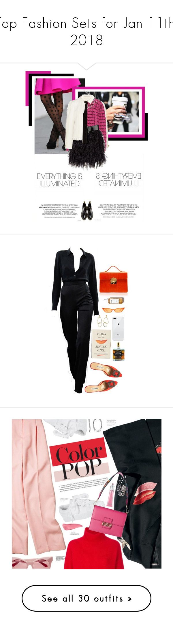 """""""Top Fashion Sets for Jan 11th, 2018"""" by polyvore ❤ liked on Polyvore featuring Theory, Proenza Schouler, Marc Jacobs, DANNIJO, Jason Wu, Dr. Martens, Manolo Blahnik, Rubeus, Kate Spade and Outremer"""