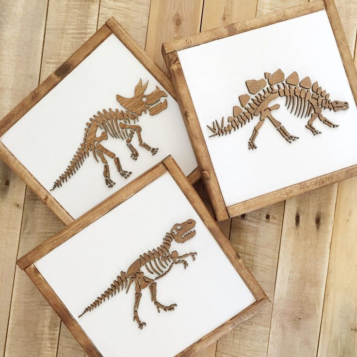 Dinosaur Sign- Dinosaur Wall Art- Boys Bedroom Decor- Neutral Nursery Decor- Dinosaur Nursery- Birthday- Kids Bedroom Decor-Playroom Decor by TheHandm…