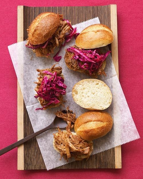 Sanduíche de carne de porco desfiada #adultfood