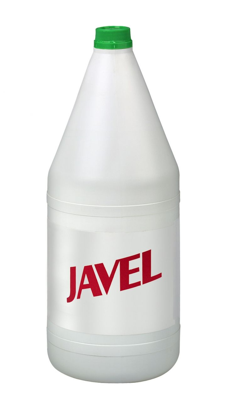 Stockflecken entfernen mit Javel Wasser