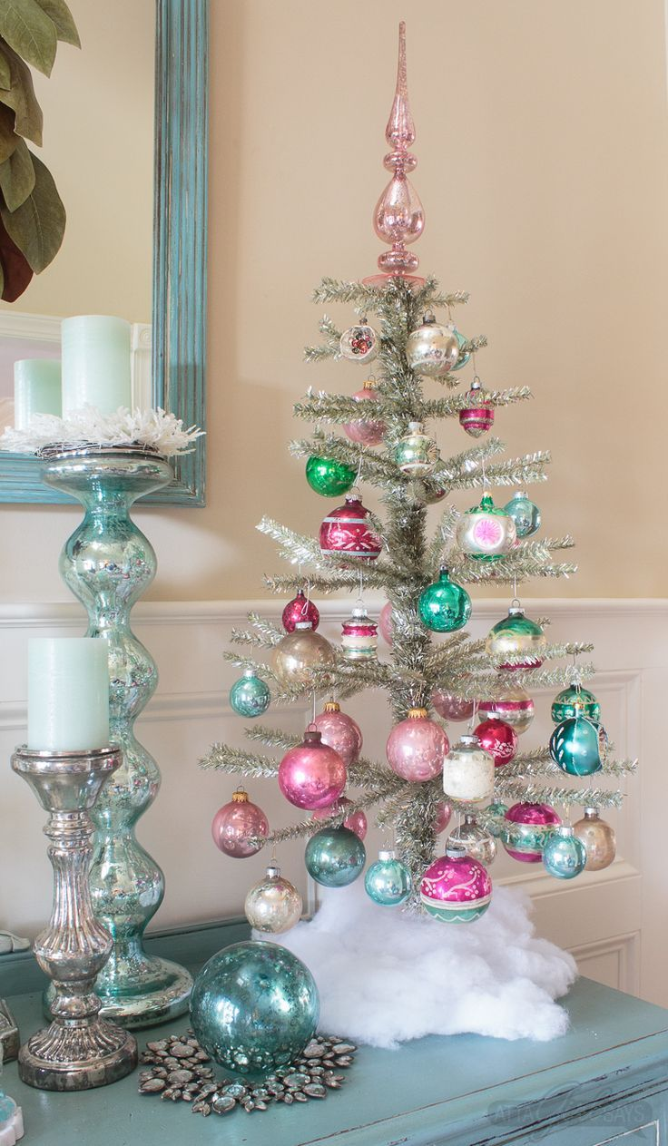 13 Beautiful Christmas Trees To Inspire You Unique Christmas Trees Small Christmas Trees Bohemian Christmas