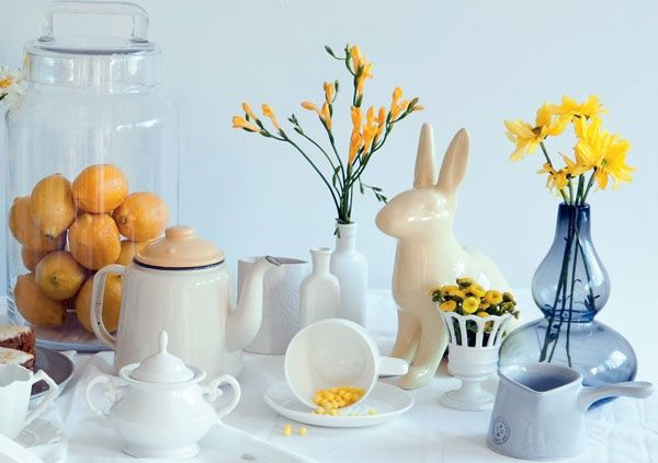 Zesty yellow baby shower ideas | Parent24