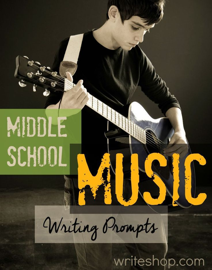These middle school music writing prompts can be used with kids of all ages, but your junior highers should especially enjoy them.