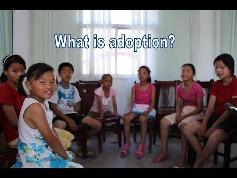 What Is Adoption? by Love Without Boundaries. A great video! #china #adoption #olderchildadoption