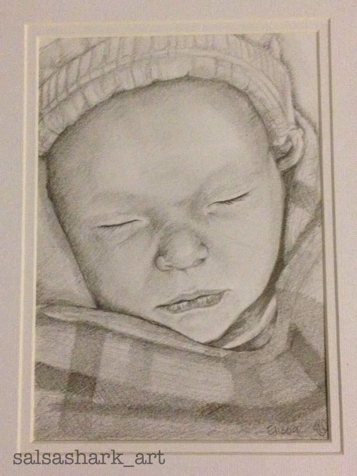 Baby Elissa sketch