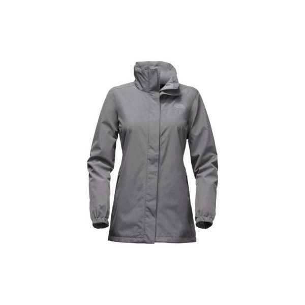 The North Face Women's Resolve Parka Coat ($110) ❤ liked on Polyvore featuring outerwear, coats, medium grey tweed, grey parka coat, grey tweed coat, the north face, grey parka and tweed coats
