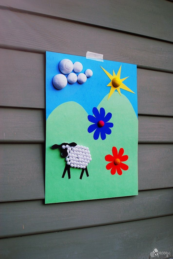Lightweight 3d Shapes For Kids Collage And Dimensional Art And A