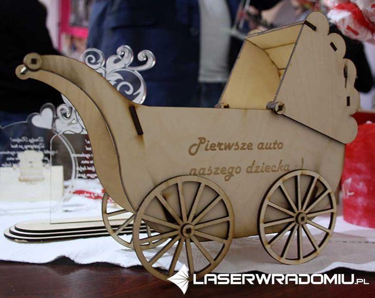 wózek cięty laserem