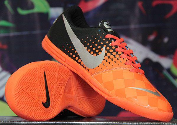Nike Elastico Hitam Orange Rp 140.000 BB : 277D5CC1 | call : 0856 5879 0893  sepatufutsalpremium.com