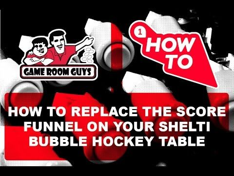 Wave hello to this awesome video! 👋 How to Replace a Shelti Bubble Hockey Scoring Funnel | Game Room Guys https://youtube.com/watch?v=A-xQngtV3_8
