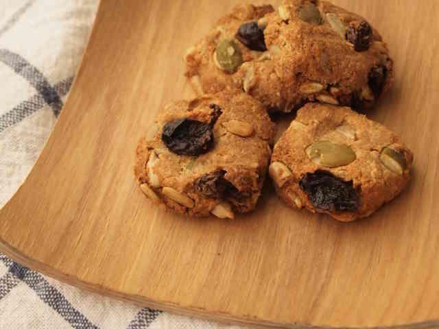 ゆるマクロビ♪おからと全粒粉のクッキーの画像