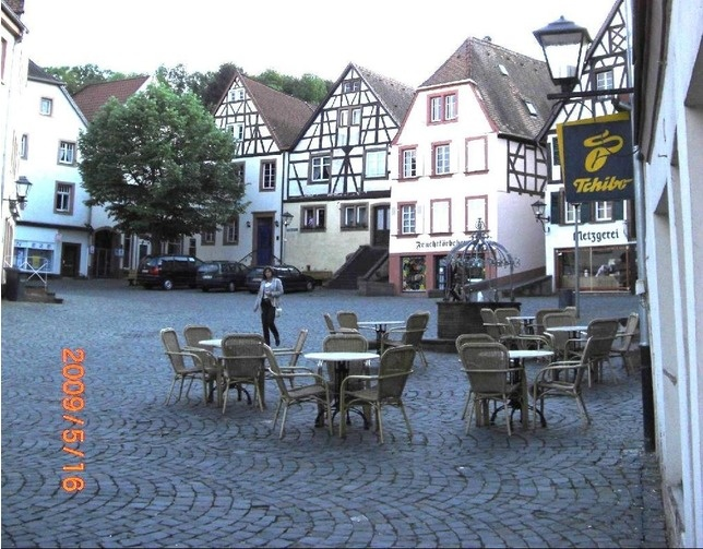 Old Town of Ottweiler - Ottweiler, Saarland Germany