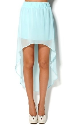 cute: High Low Skirts Outfits, Dreams Closet, Mint Skirts, Highlow, Color, High Low Lights Blue Skirts, Carolina Blue, Mint Green Skirts, Maxi Skirts