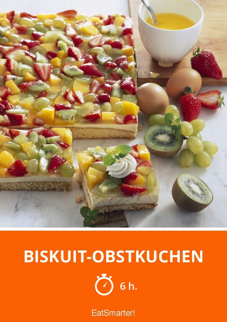 Biskuit-Obstkuchen