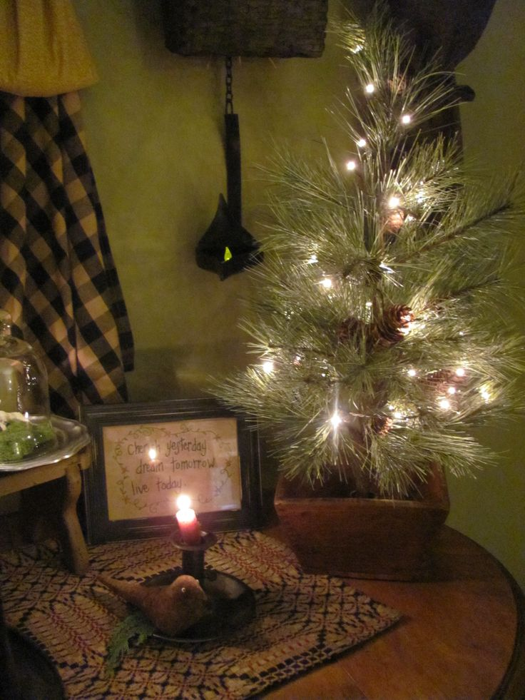 Simple Peaceful Primitive Christmas Merry Christmas