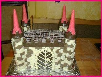 Narozeninový dort HRAD #narozeniny #dort #hrad #jídlo