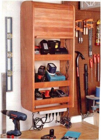 Garage Tool Storage Plans