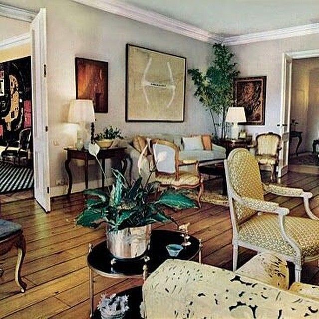 Billy Baldwin living room in Madrid for Maite and Placido Arango #genius #ole #fave #chic #snappy