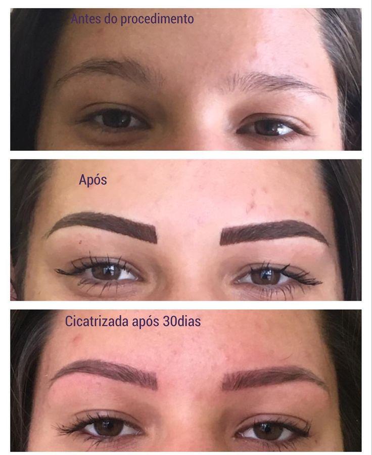 Micropigmentação de sobrancelhas técnica mista esfumada com fios,  porque bonito e ser natural!! #sobrancelhas #sobrancelhaslindas #micropigmentacao #sobrancelhasesfumadas  #Eyebrows #eyebrows #antesedepois http://ameritrustshield.com/ipost/1541597006941421534/?code=BVk2k9hjH_e