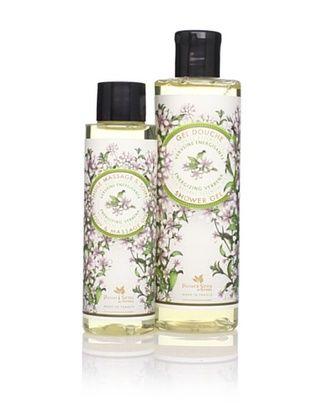 47% OFF Panier des Sens Energizing Verbena Shower Gel & Massage Oil, Set of 2