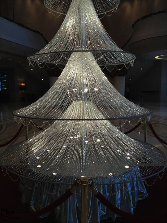 36 best holidays at the crocker images on pinterest facebook a fifteen foot crystal christmas tree standing under a huge swarovski crystal chandelier the aloadofball Image collections