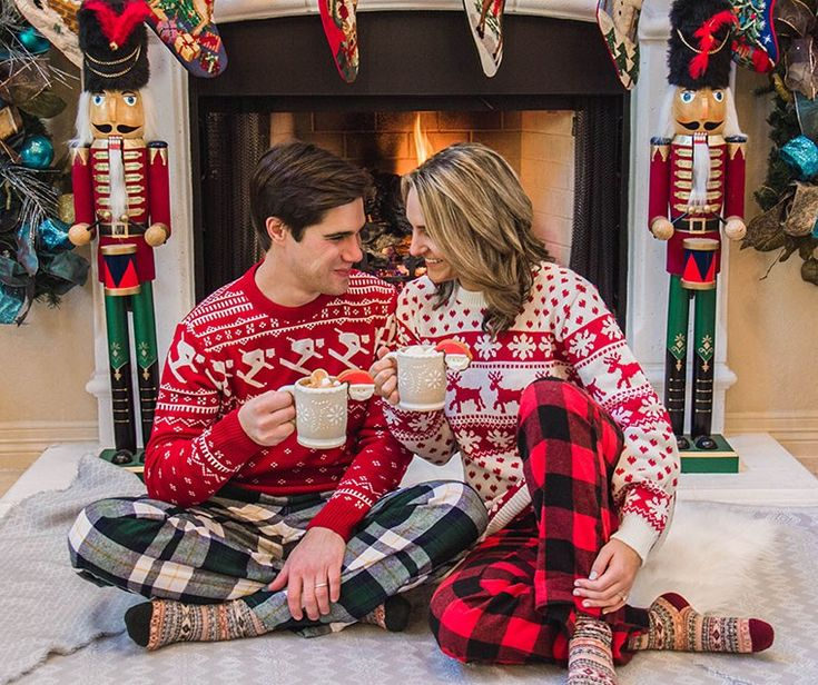 Fireside for Christmas - One Swainky Couple