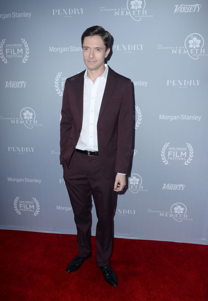Topher Grace attends the San Diego International Film