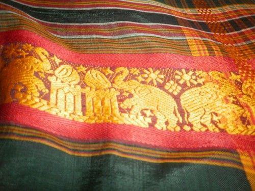 Vtg Bali Indonesia Batik Elephant Cotton Fabric Pareau Wrap Sarong Man ...