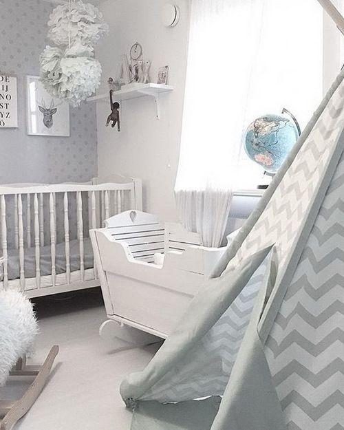 60 modern chic nursery toddler rooms finabarnsaker - Nursery Design Ideas