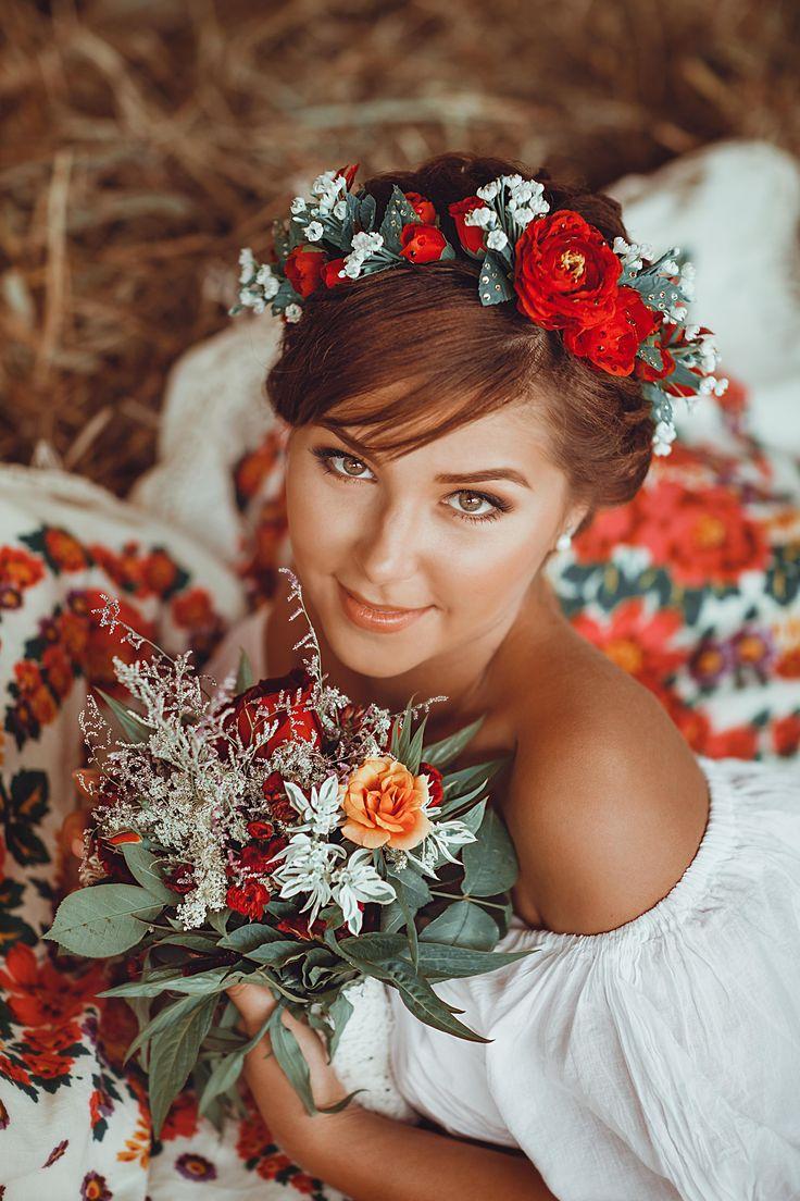 Свадьба в русском стиле )