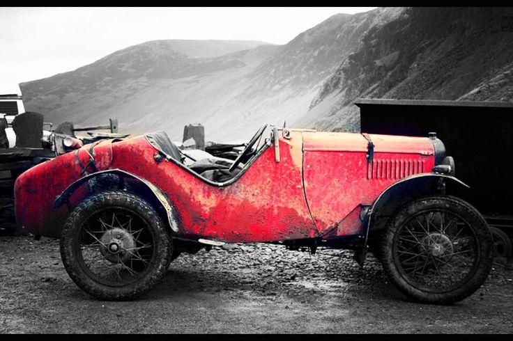 Austin Ulster Trials Car