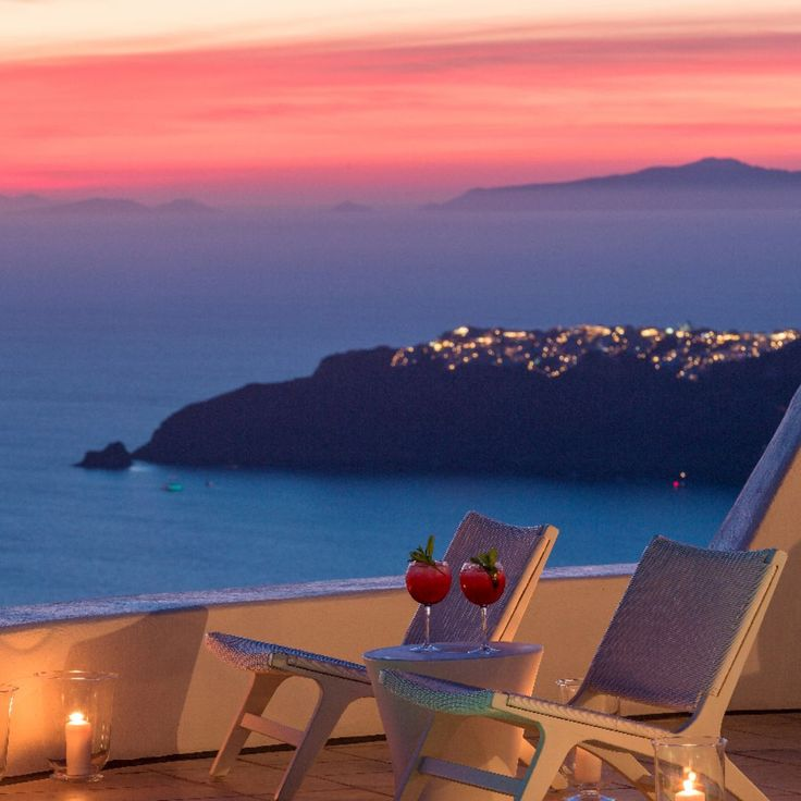 A world of unprecedented beauty... Remember how that sweet Santorini breeze caresses you as the sun starts to set...?