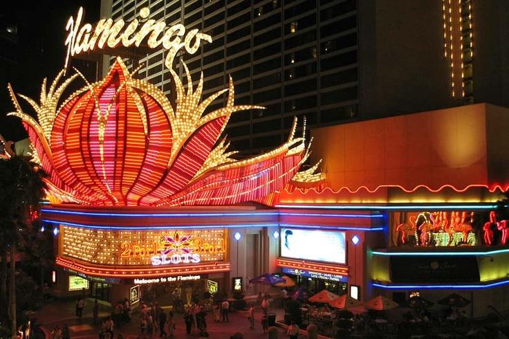 Het Flamingo-complex in Las Vegas.