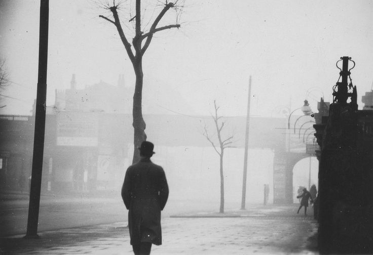 "Bow Road from Elwin Hawthorne's archives from 1931 might strike a chord as it would seem to show a bit of a London ""pea-souper""!"