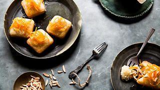 Almond-orange syrup cakes | Orange cake recipes | SBS Food