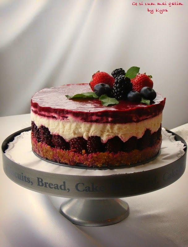 Ce si cum mai gatim: Cheesecake cu mure