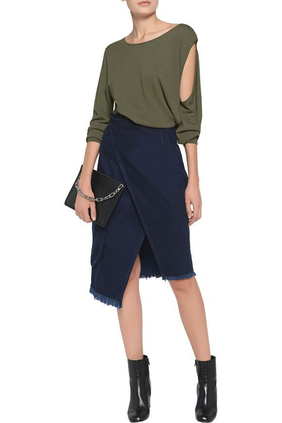 Cutout knitted sweater | MM6 MAISON MARGIELA | Sale up to 70% off | THE OUTNET