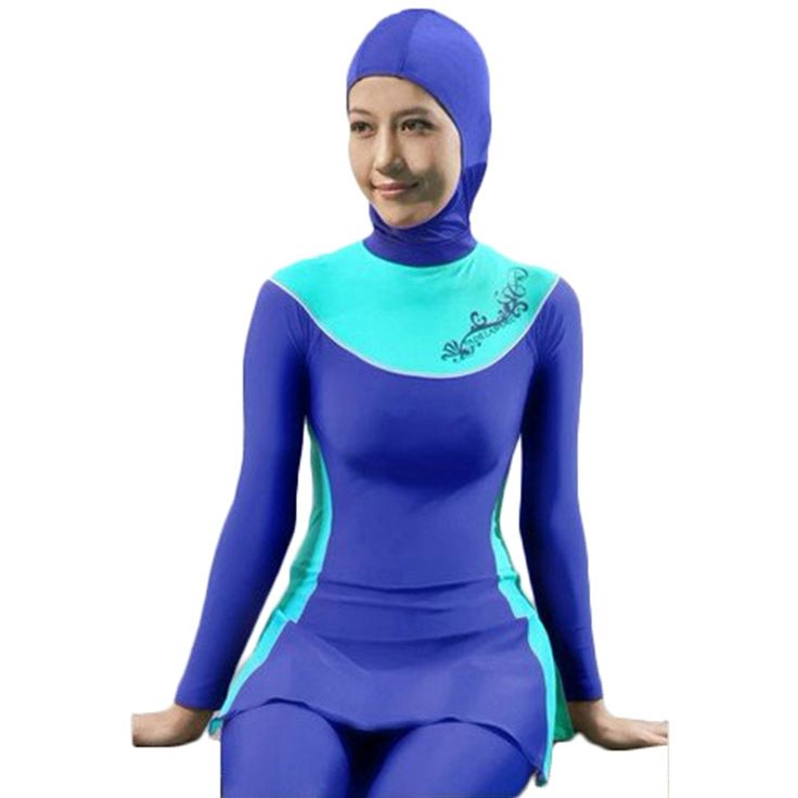 Women swimsuit plus size Muslim Swimwear high waist swimsuit swimwear women bathing SwimSuits maillot de bain women trajes de bano Aidilfitri * AliExpress Affiliate's Pin.  Click the image to visit the AliExpress website