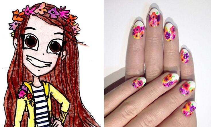 Arte de Uñas www.facebook.com/nadadeperfectas